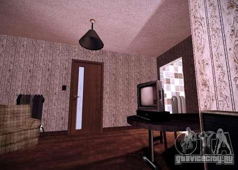 Интерьер квартиры для GTA San Andreas второй скриншот