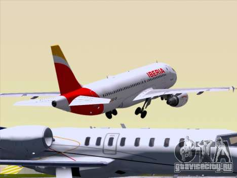 Airbus A320-214 Iberia для GTA San Andreas