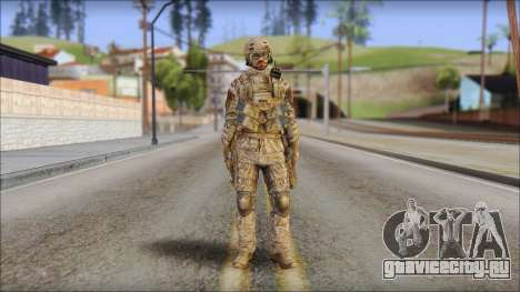 Desert SFOD from Soldier Front 2 для GTA San Andreas