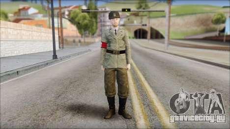 Wehrmacht soldier для GTA San Andreas