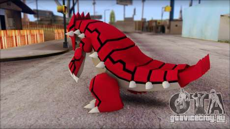 Groudon Pokemon для GTA San Andreas второй скриншот