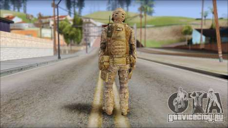 Desert SFOD from Soldier Front 2 для GTA San Andreas второй скриншот