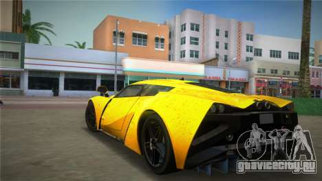 Marussia B2 2010 для GTA Vice City вид слева
