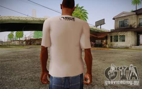 Nick Automatic T-Shirt для GTA San Andreas второй скриншот
