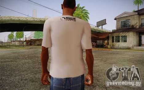 Nick Automatic T-Shirt для GTA San Andreas второй скриншот