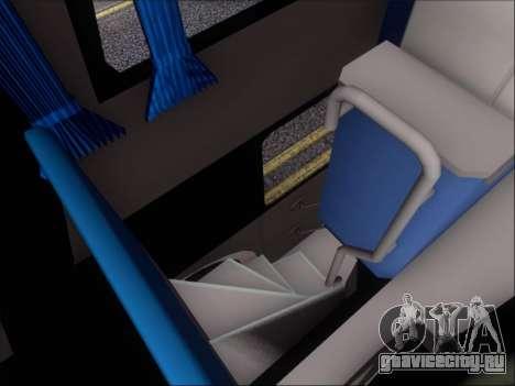 Metalsur Starbus DP 1 6x2 - La Veloz del Norte для GTA San Andreas вид снизу