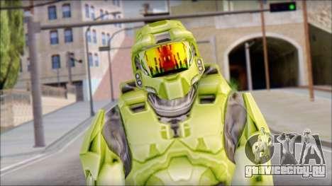Masterchief Green from Halo для GTA San Andreas