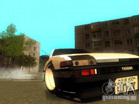 Toyota Corolla AE86 Trueno JDM для GTA San Andreas колёса