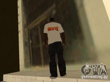 Футболка Физрук для GTA San Andreas второй скриншот