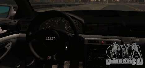 Audi S4 Stock 2000 для GTA San Andreas вид справа