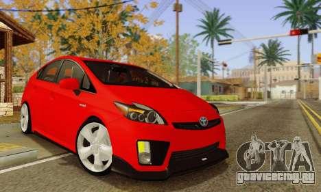 Toyota Prius Tunable для GTA San Andreas