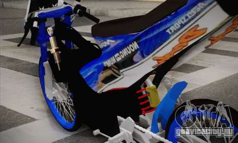 Honda Dash 2 tak для GTA San Andreas вид сзади слева