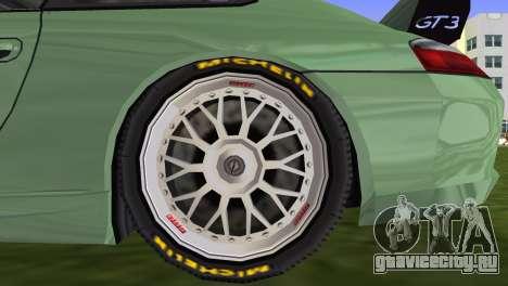 Porsche GT3 Cup 996 для GTA Vice City вид сзади
