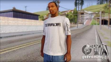 Terror T-Shirt Hardcore для GTA San Andreas