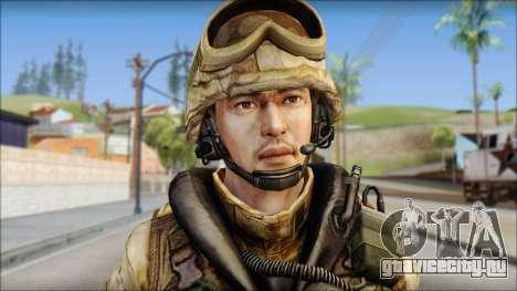 Desert UDT-SEAL ROK MC from Soldier Front 2 для GTA San Andreas третий скриншот