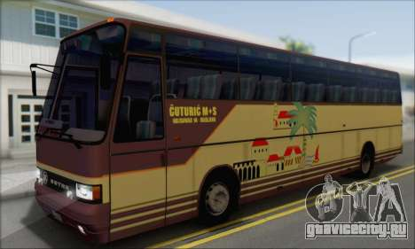 Setra S215 HD для GTA San Andreas вид справа
