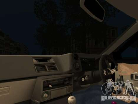 Toyota Corolla AE86 Trueno JDM для GTA San Andreas вид изнутри