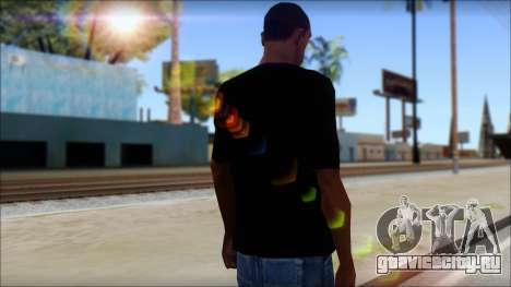 Black Sabbath T-Shirt v1 для GTA San Andreas второй скриншот