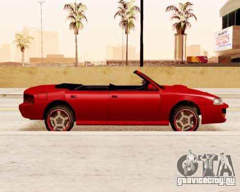Sultan Кабриолет для GTA San Andreas вид слева