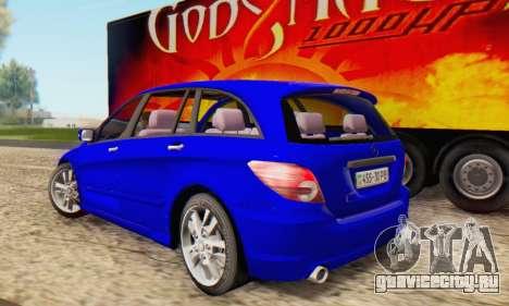 Mercedes-Benz R350 для GTA San Andreas вид слева