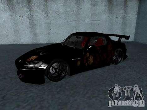 Honda S2000 from Fast & Furious для GTA San Andreas