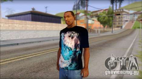Avenged Sevenfold Nightmare Fan T-Shirt для GTA San Andreas