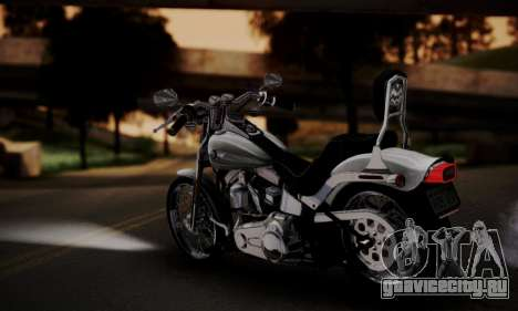 Harley-Davidson FXSTS Springer Softail для GTA San Andreas вид слева