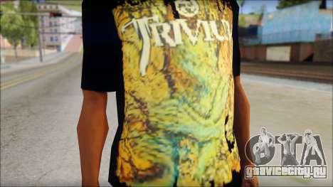 Trivium T-Shirt Mod для GTA San Andreas третий скриншот
