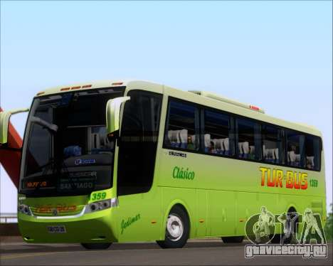 Busscar Vissta LO Scania K310 - Tur Bus для GTA San Andreas вид слева