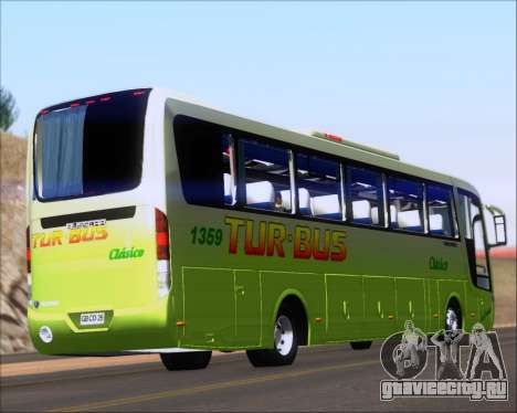Busscar Vissta LO Scania K310 - Tur Bus для GTA San Andreas вид справа