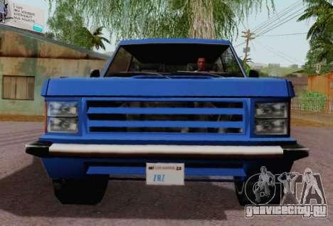 Huntley Coupe для GTA San Andreas вид сзади