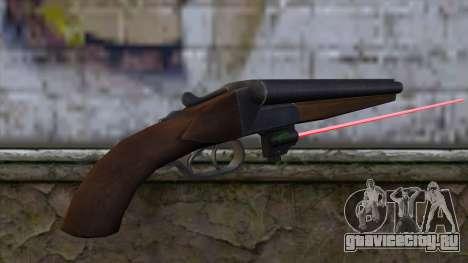 Обрез с лазерным прицелом для GTA San Andreas второй скриншот