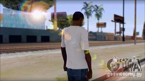 Axl Rose T-Shirt Mod для GTA San Andreas второй скриншот