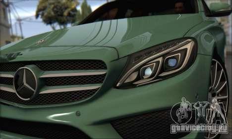 Mercedes-Benz C250 V1.0 2014 для GTA San Andreas вид слева