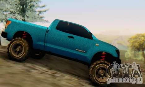 Toyota Tundra OFF Road Tuning Blue Star для GTA San Andreas вид слева