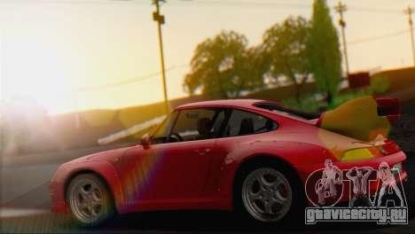Porsche 911 GT2 (993) 1995 V1.0 EU Plate для GTA San Andreas вид справа