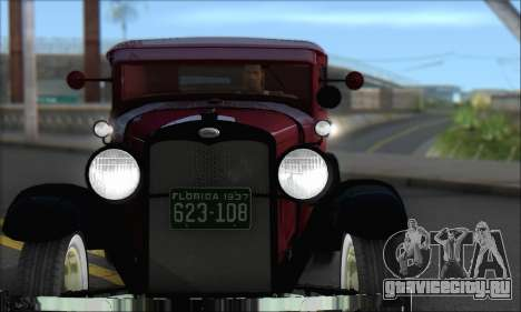 Ford A 1930 для GTA San Andreas вид слева