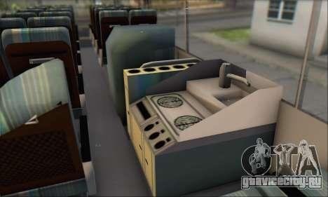 Setra S215 HD для GTA San Andreas вид изнутри