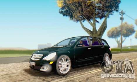 Mercedes-Benz R350 для GTA San Andreas салон