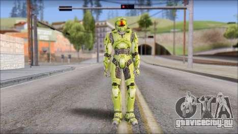 Masterchief Green from Halo для GTA San Andreas второй скриншот