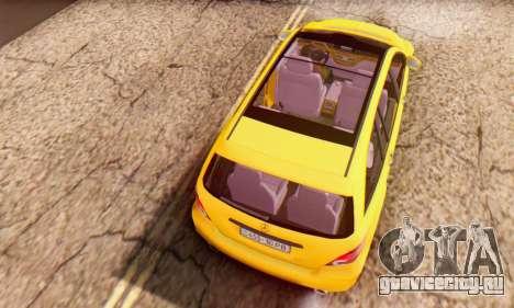 Mercedes-Benz R350 для GTA San Andreas вид сбоку