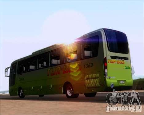 Busscar Vissta LO Scania K310 - Tur Bus для GTA San Andreas вид сзади слева