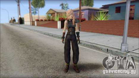 Final Fantasy XIII - Lightning Lowpoly для GTA San Andreas