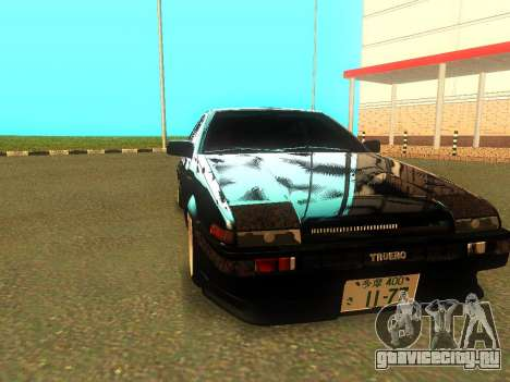 Toyota Corolla AE86 Trueno JDM для GTA San Andreas вид слева