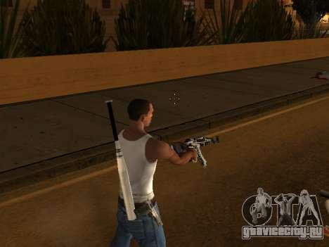 AK47 from CS:GO для GTA San Andreas четвёртый скриншот