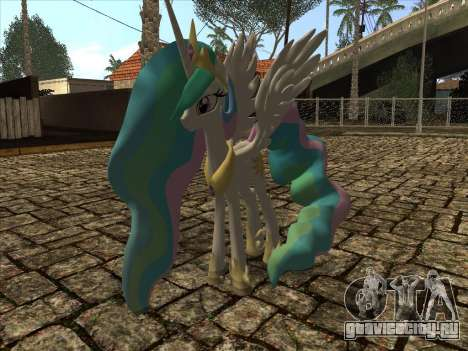 Princess Celestia для GTA San Andreas