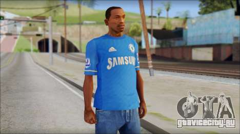 Chelsea FC 12-13 Home Jersey для GTA San Andreas