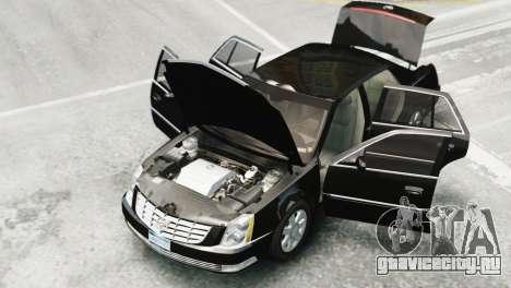 Cadillac DTS 2006 v1.0 для GTA 4 вид сзади слева