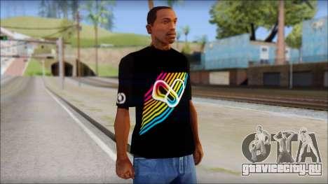 I Love Electro T-Shirt для GTA San Andreas