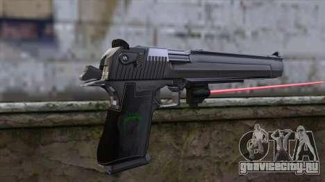 Desert Eagle с лазерным прицелом для GTA San Andreas второй скриншот